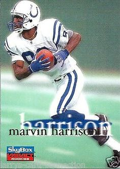 a6cab200c Marvin Harrison 1996 96 Skybox Impact Rookies 25 Indianapolis Colts