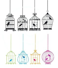 I like the idea of four different cages. One for each elemental part