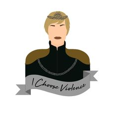 Your place to buy and sell all things handmade Game Of Thrones Cersei, Game Of Thrones Funny, Familia Lannister, Game Of Thrones Illustrations, Cersei And Jaime, Cersei Lannister, Tumblr Stickers, Printable Stickers, Embroidery Ideas