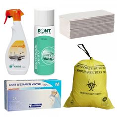 Pack Nettoyage pour secouristes et ambulanciers