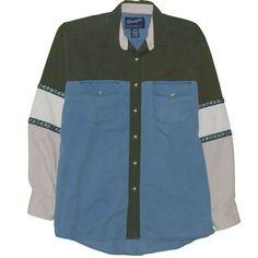 Dockers Western Print Shirt Sz 2xlt Xxlt Southwest Tribal Aztec Year-End Bargain Sale Shirts Men's Clothing