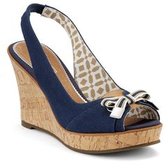 Southampton Wedge Sandal-I want these shoes so bad! I just cant justify spending $98 on shoes....