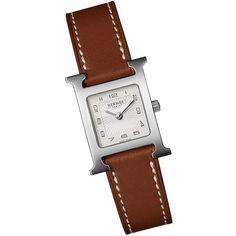 Hermes watch in silver
