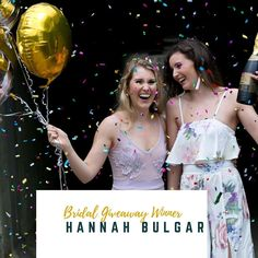 Congratulations @hannahnanelle for winning The Ultimate Bridal Giveaway!! Check your email Hannah for prize information.