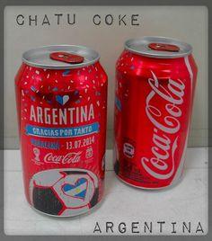 COCA COLA CAN FIFA WORLD CUP BRAZIL 2014 MARACANA SPECIAL EDITION ARGENTINA  | eBay