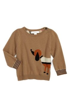 Burberry Wool & Cashmere Sweater @Nordstrom