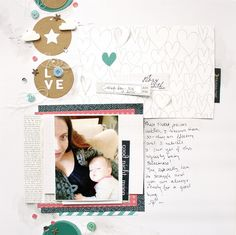 LOVE - Cocoa Daisy January Kit - Scrapbook.com