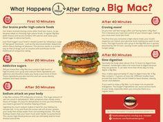Das macht ein Big Mac mit dem Körper - gastronomieguide.de