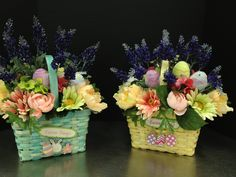 Blooming Easter Baskets  Spring & Easter collection 2013 Designed by Christian Rebollo