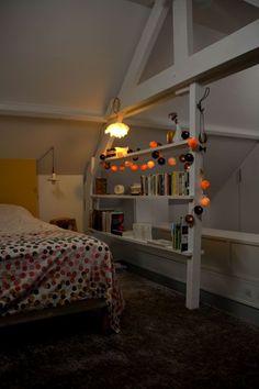 bedroom shelf handmade