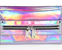 holographic clutch crossbody