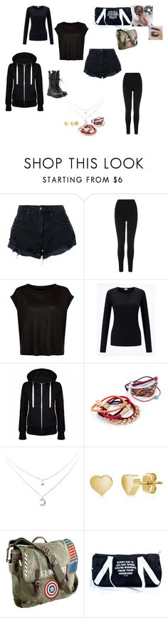 """Untitled #90"" by wiggywiggy05 on Polyvore featuring Nobody Denim, L.K.Bennett, By Lilla, BERRICLE, Marvel, Jac Vanek, Rick Owens, goth and girlpower"