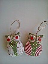 Vianoce - Vianočné sovičky  - 3356421