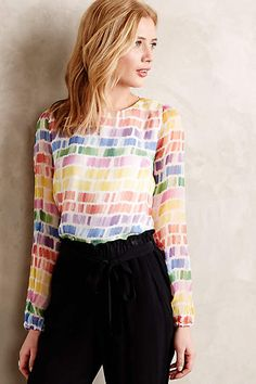 Maile Blouse - anthropologie.com