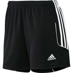 Adidas Soccer Shorts (Black/White)