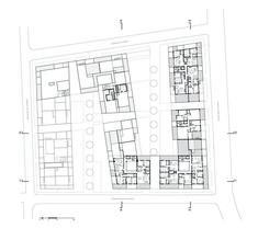 Аптаун Домов,Пятый Этаж План
