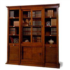 Biblioteca clásica por módulos de Notario Cómpralo en www.betty-co.com