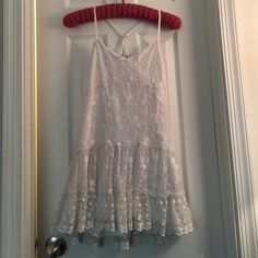 Final SaleLace dress Abercrombie and Fitch New York -2 - adorable racer back lace dress worn just 1 time  Abercrombie & Fitch Dresses Mini