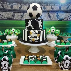 Soccer Birthday, Soccer Party, 2nd Birthday, Birthday Parties, Minions, Farewell Cake, Bat Mitzvah, Manchester, Cool Stuff
