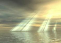 I love when I see the sunlight streaming down from the sky~it reminds me of how beautiful Heaven will be.