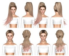 Skysims 268 and 270 hairstyles retextured by July Kapo for Sims 3 - Sims Hairs - http://simshairs.com/skysims-268-and-270-hairstyles-retextured-by-july-kapo/