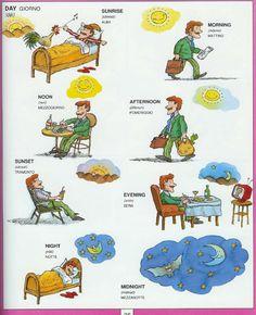#1351 Parole Inglesi Per Piccoli e Grandi - Illustrated #Dictionary - D2