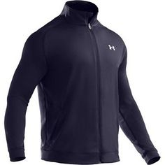 Men's Flex Jacket Tops by Under Armour Large Midnight Navy by Under Armour. $36.99. Lightweight flatback mesh material for breathability, performance, and comfort. 4-way stretch fabrication improves range of motion and dries faster. Superior moisture management technology wicks sweat to keep you cool and dry. Hand pockets for easy storage. 100% Polyester. Imported.