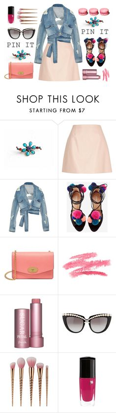 """Pins With Personality"" by anna-karenina-1812 ❤ liked on Polyvore featuring Sorrelli, River Island, Jonathan Simkhai, Mulberry, Anna-Karin Karlsson and pins"