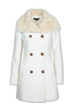 Biały płaszczyk - Tally Weijl