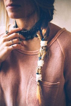How To Fake A Fishtail Braid Hair Braid Lust & Inspiration RePinned By: Live Wild Be Free www.livewildbefree.com Cruelty Free Lifestyle & Beauty Blog.