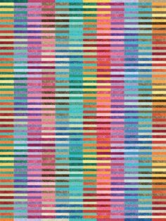 "Beyond The Rainbow, 80 x 60"", quilt pattern by Kent Williams"