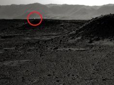 ASTRONOMIA HOJE: Luz misteriosa em foto tirada em Marte intriga cie...