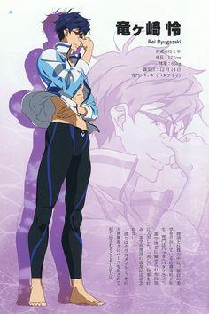 Yasuhiro Takemoto, Kyoto Animation, Free!, Rei Ryuugazaki