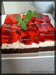 Polish Recipes, Tiramisu, Cheesecake, Cooking, Ethnic Recipes, Pastel, Cakes, Food, Diet