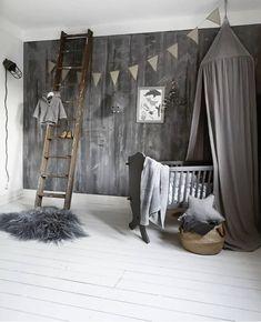 Tuck-Inn ledikantdeken Ombre Warm Grey - wit - Witlof for kids Baby Bedroom, Nursery Room, Boy Room, Kids Bedroom, Designer Baby, Playroom Decor, Room Interior Design, Baby Design, Rum