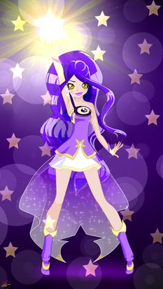 And she is an another lolirock princess.Her name is Gina and her kingdom is Astroland
