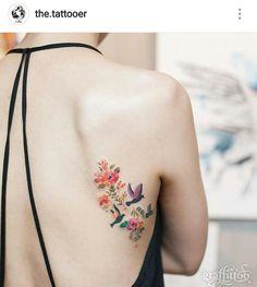 Flowers and birds Más