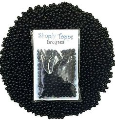 Black Dragees - Sugar Pearl Balls for Decorating or Topping Cakes, Cupcakes, Cookies and Cake Pops Cake Baking Supplies, Colorful Cakes, Cookie Decorating, Decorating Ideas, No Bake Cake, Cake Pops, Sugar, Cookies, Color Cake