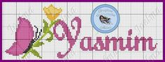 Projects To Try, Boy Names, Proper Nouns, Free Cross Stitch Patterns, Female Names, Tape Art, Cross Stitch Alphabet, Embroidered Towels, Names