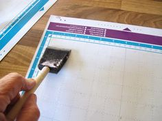 Brother Scan N Cut resticking mats tutorial