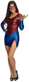 Costume Ideas for Women: Top Spiderman and Spidergirl Costumes for Women