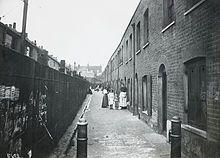 Bethnal Green slum 1900