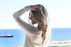 Messy braid – always a winner when one doesn't have time to wash it- Fancy Hairstyles, Braided Hairstyles, Wedding Hairstyles, Hairstyle Ideas, Messy Fishtail, Messy Braids, Braids For Medium Length Hair, Side Plait, The Beauty Department
