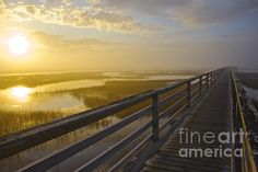 Located in historic Yarmouthport, Ma, the Grays Beach Boardwalk gives a gorgeous perspective of the surrounding marsh and ocean. On this outing the boardwalk was completely fogged in, then suddenly the sun broke through and revealed a stunning sunset! #travel #tourism #massachusetts #vacation