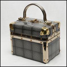 vintage psychedelic Delill box purse...