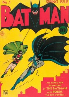 First issue of Batman