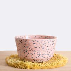 Tache Bowl - Pink – Prelude & Dawn Kitchen Necessities, Earthenware, Serving Bowls, Dawn, Decorative Bowls, Pink, Ceramics, Cooking, Tableware