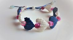 Macrame bracelet tutorial: The heart string - Easy and cute macrame craf...