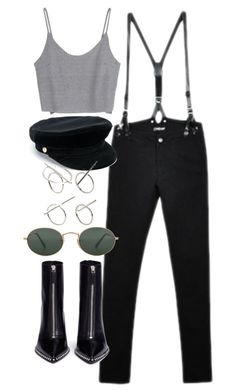 """""""Untitled #5178"""" by olivia-mr ❤ liked on Polyvore featuring CourtShop, Manokhi, Alexander Wang, Ray-Ban and ALDO"""