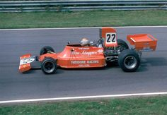 #22 Vern Schuppan (Aus) - Ensign N174 (Ford Cosworth V8) non qualified Team Ensign